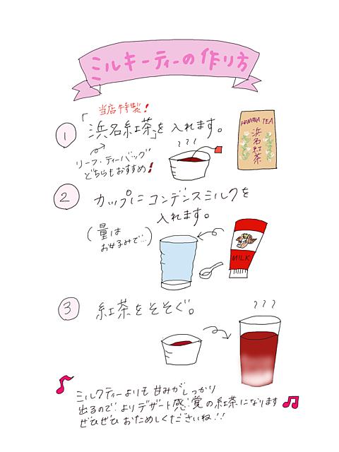 レシピに使用したお茶 ・浜名紅茶